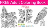 Totally FREE Adult Coloring Book! Easy Freebie!