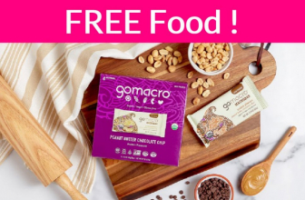 Possible FREE GoMacro Peanut Butter Chocolate Chip!