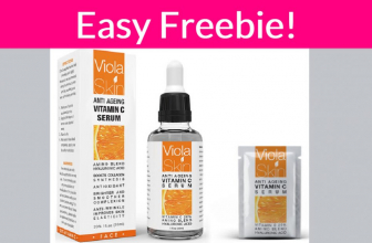 Easy Free Sample By Mail of VITAMIN C SERUM!