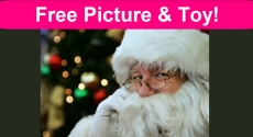 FREE Photo with Santa and a FREE Toy!