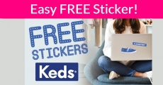 Free Keds Stickers !