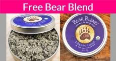 FREE SAMPLE OF BEAR BLEND'S ORGANIC HERBS!