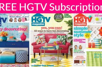 FREE Subscription to HGTV Magazine!
