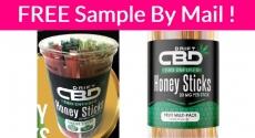 FREE Sample By Mail of CBD Honey Sticks!