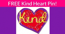 Totally FREE Kind Heart Pin ( $7.95 Value ) !
