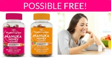 Possible FREE Manuka Honey Immunity Gummies!