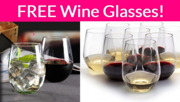 FREE Unbreakable Wine Glasses!