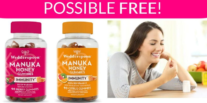Possible FREE Manuka Honey Immunity Gummies!