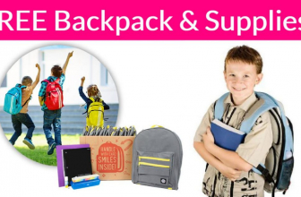 TODAY ONLY ! Free Backpack and School Supplies!