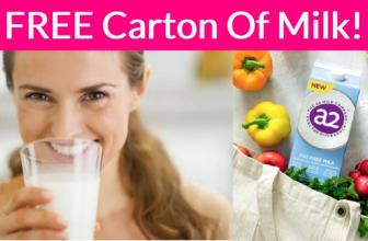 SUPER EASY! Get a Free Carton Of Milk!