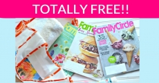 TOTALLY FREE Family Circle Magazine