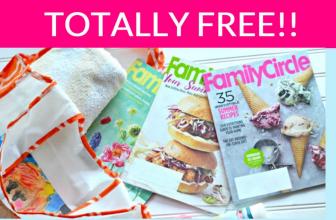 TOTALLY FREE Family Circle Magazine