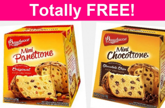 FREE Bauducco Mini Panettone or Chocottone!