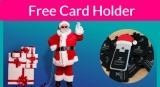 Super Easy Freebie! Free Card holder for your Cell Phone!