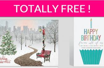 6 Free Greeting Cards!