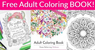 FREE 50 Page Adult Coloring Book!