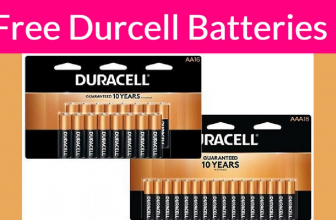 TOTALLY FREE Duracell 16-Pack AA & AAA Batteries
