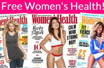 Free Women's Health Magazine Subscription – 1 YEAR !