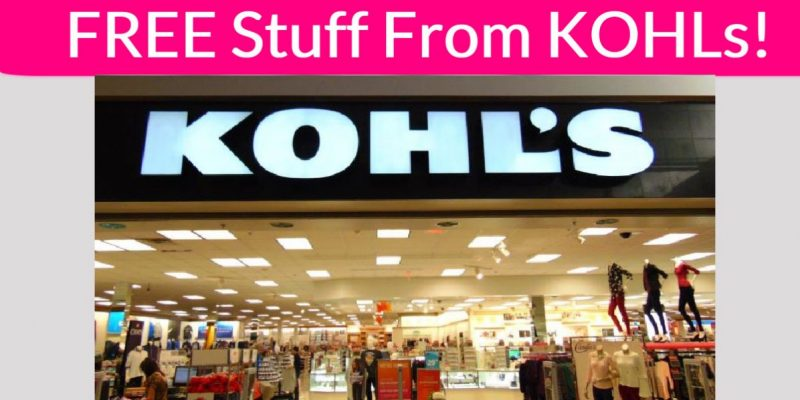 Totally FREE Stuff Kolhs – Product Tester!