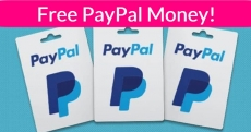 Free PayPal CASH ( Or Other Gift Cards ! ) !