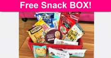 FREE Snack Box Giveaway!