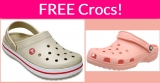 Possible FREE Croc Shoes By Mail !