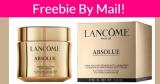 FREE Lancome Face Cream!