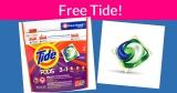FREE Tide Pod Samples!