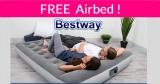 2 FREE Airbeds with Built-in Pump!