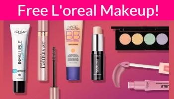 FREE Lo'real Makeup!