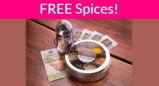Free Spice Samples By Mail !