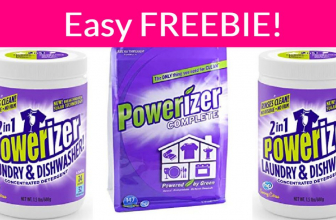 Easy Freebie! Free Sample by Mail Of Powerizer!