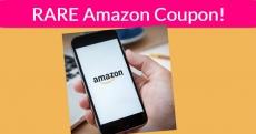 RARE! Free $10 Off $20 Amazon Coupon!