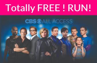 FREE CBS All Access =  10,000+ EPISODES. LIVE TV. ORIGINAL SERIES!