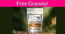 Free Granola by mail ! YUMMY!