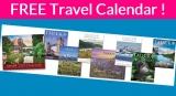 Totally Free – Beautiful – Travel Calendar !