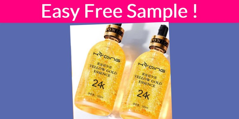 Free Sample By Mail of Face Serum Hyaluronic Acid !