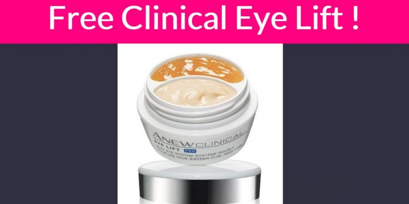 FREE Sample By Mail of Anew Clinical Eye Lift !