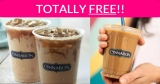 FREE – FREE – Free Cold Brew Coffee from Cinnabon!