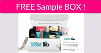 Free Goodie Box By Mail ! { I got mine ! }
