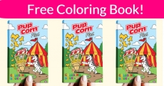 YES! Free Pup Corn Plus  Coloring Book!