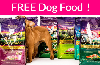 FREE Dog Food Sample by mail! SUPER Easy!