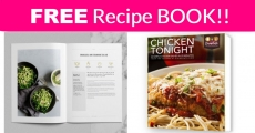 FREE Recipe Book and DAILY recipes! Everyone Will Get It!