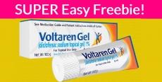 Easy Free Sample – Voltaren Arthritis Pain Gel