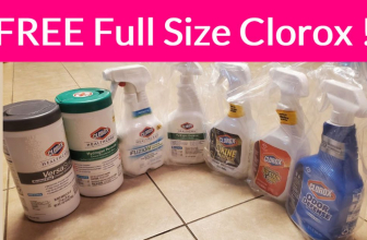 Free Full Size Clorox Samples BY MAIL !