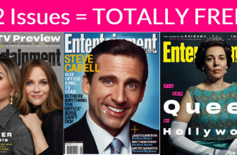 22 Print Issues of  Entertainment Weekly = TOTALLY FREE!