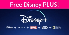 FREE Disney Plus!