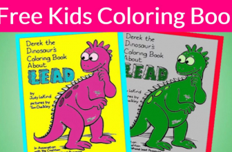 Free Kids Coloring book By Mail !