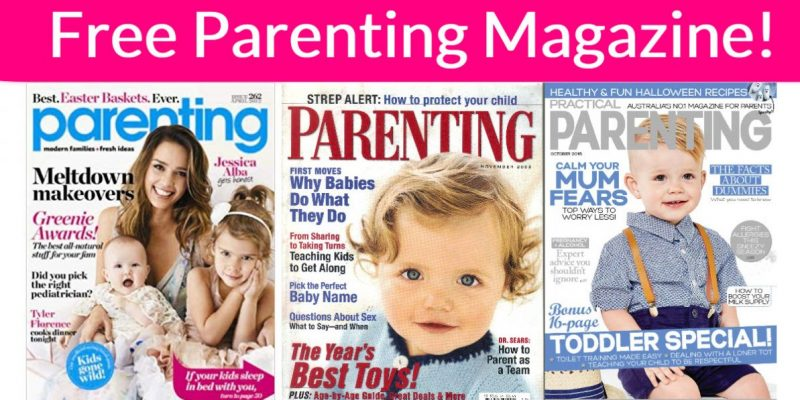 Free Subscription Of Parent's Magazine! Totally FREE!