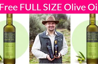 FREE Full Size Olive Oil Bottle { $39.00 Value! }